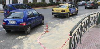 Κυκλοφοριακά προβλήματα στη λεωφόρο Βουλιαγμένης λόγω διαρροής ελαιόλαδου από φορτηγό