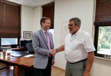 Πρόξενος ΗΠΑ: Άριστο παράδειγμα αξιοποίησης συνεργασιών η λειτουργία της ΑΓΣ