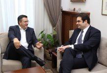 Συνάντηση Κ. Πιερρακάκη με Α. Τζιτζικώστα για τα οπτικοακουστικά έργα στη Β. Ελλάδα