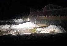 Ισχυρή χαλαζόπτωση στη νότια Κρήτη - Καταστροφές σε καλλιέργειες και Θερμοκήπια