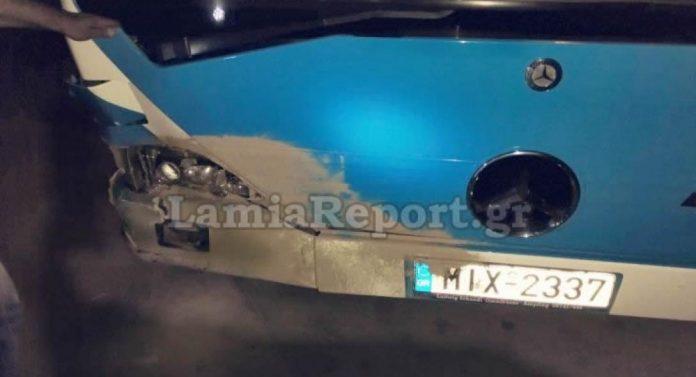 Τροχαίο ατύχημα αγριόχοιρων με λεωφορείο του ΚΤΕΛ στον Έβρο