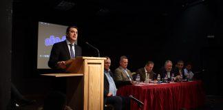 Ετήσιο Συνέδριο Πανελλήνιου Συνδέσμου ΑγροτικώνΦωτοβολταϊκών - Κ.Σκρέκας:Προτεραιότητάμας η μείωσητου κόστους παραγωγής