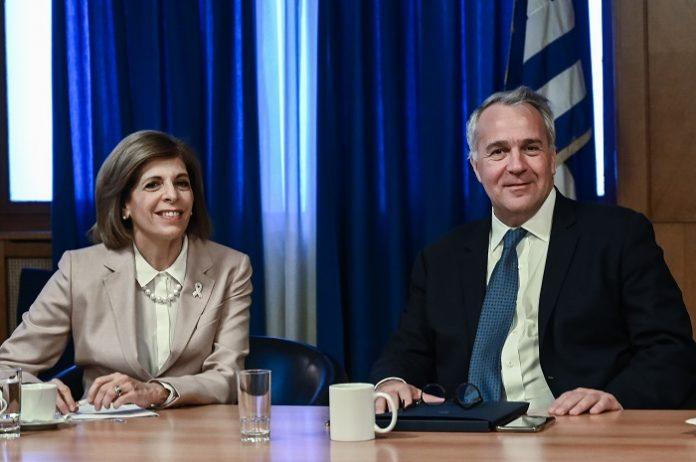 Η απάτη στα τρόφιμα στο επίκεντρο της συνάντησης του Μ. Βορίδη με την Ευρωπαία Επίτροπο Στ. Κυριακίδου