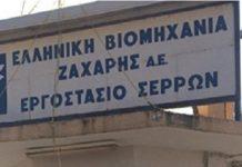 Αρχές Αυγούστου το αργότερο αρχίζει η παραγωγή στο εργοστάσιο της ΕΒΖ στις Σέρρες