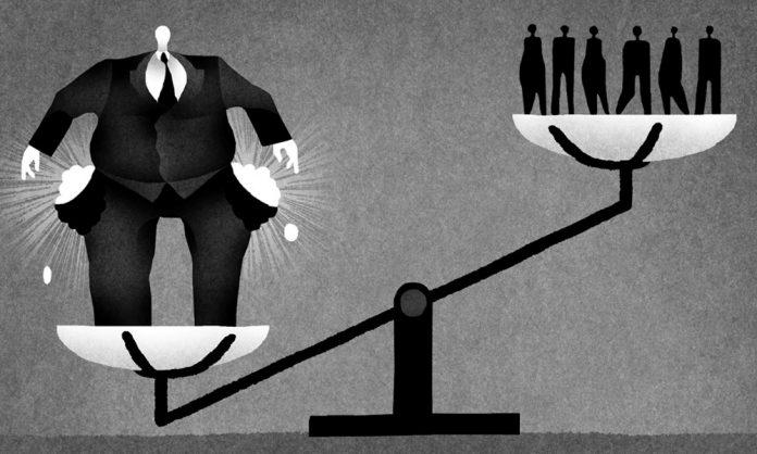 Κάτι παραπάνω από 2.000 άνθρωποι συγκεντρώνουν εισοδήματα όσο 4,6 δισ. «κοινών θνητών»
