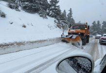 Αυξήθηκε ξανά στο 13% -προσωρινά όμως- η χιονοκάλυψη της Ελλάδας