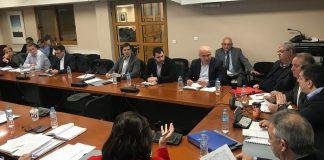 Ο Περιφερειάρχης Στ. Ελλάδας Φάνης Σπανός, επικεφαλής της Επιτροπής Χωροταξίας, Υποδομών και Μεταφορών της ΕΝΠΕ