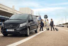 Premium υπηρεσίες μετακίνησης πολλών αστέρων με το Mercedes-Benz Vito Tourer Dark Edition