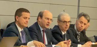 Την Τετάρτη 26 Φεβρουαρίου ο Υπουργός Περιβάλλοντος και Ενέργειας ηγήθηκε της ελληνικής αντιπροσωπείας στην έδρα του ΟΟΣΑ