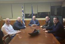 Συνάντηση Κ. Χατζηδάκη με το Προεδρείο του Πανελληνίου Σωματείου Εργαζομένων στα ΕΛΠΕ