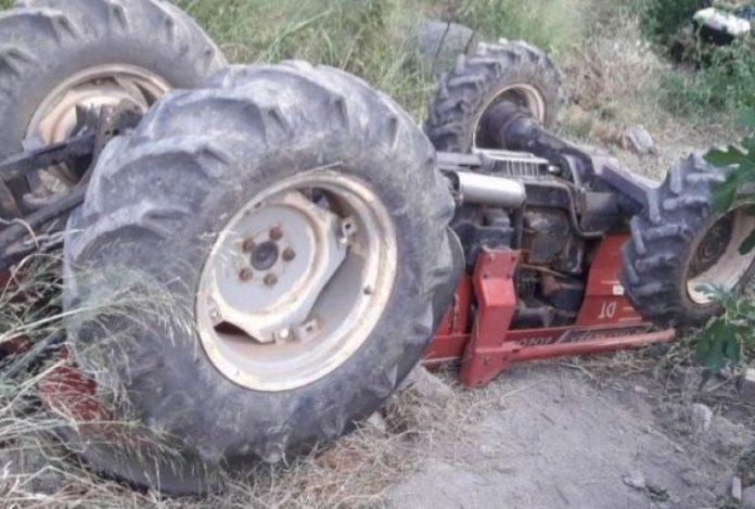 Νεκρός 46χρονος αγρότης που καταπλακώθηκε από το τρακτέρ του
