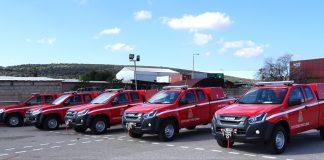ΠΕΤΡΟΣ ΠΕΤΡΟΠΟΥΛΟΣ ΑΕΒΕ: Ακόμη 5 ISUZU D-MAX στην Πυροσβεστική Υπηρεσία