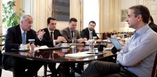 Οι προτεραιότητες του υπ. Αγροτικής Ανάπτυξης στη συνάντηση με τον Πρωθυπουργό