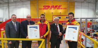 TÜV HELLAS (TÜV NORD): Πιστοποιητικά για την υγεία και ασφάλεια της εργασίας και την oδική ασφάλεια απένειμε στη DHL EXPRESS HELLAS