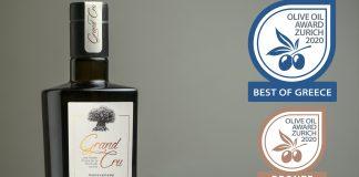 Βραβείο καλύτερου Ελληνικού ελαιολάδου για την Terra Creta στο Olive Oil Awards Zurich 2020