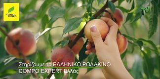 COMPO EXPERT Hellas: Στηρίζουμε όλοι τους Έλληνες παραγωγούς και το ελληνικό ροδάκινο