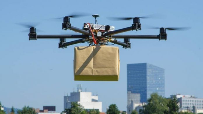 Θεσσαλονίκη: Παράδοση τροφίμων και φαρμάκων με drone σε ευπαθείς ομάδες