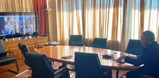 Τηλεδιάσκεψη Βορίδη με παραγωγικούς φορείς για τα προβλήματα που προκύπτουν από την εξάπλωση του κορωνοϊού