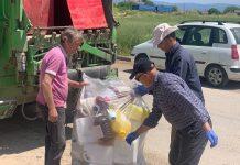 Δυναμικό παρόν από τον Συνεταιρισμό Χάλκης στην ανακύκλωση κενών συσκευασίας φυτοφαρμάκων