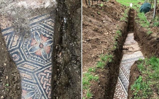 Ιταλία : Εντυπωσιακό ρωμαϊκό ψηφιδωτό εντοπίστηκε κάτω από αμπελώνα