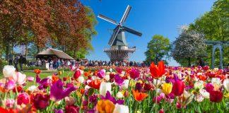 Bόλτα στον πιο διάσημο κήπο της Ολλανδίας