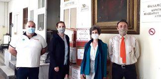 Οι «Μοδίστρες Έκτακτης Ανάγκης» ράβουν και η INTERAMERICAN περισυλλέγει και παραδίδει μάσκες
