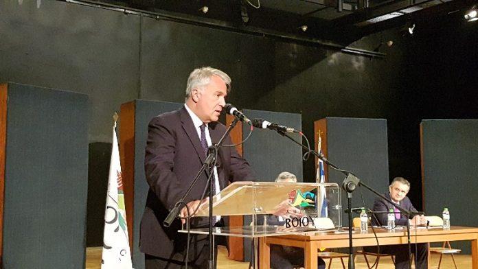 Μ. Βορίδης - Σιάτιστα: Eνίσχυση 3 εκατ. ευρώ σε εκτροφείς γουνοφόρων, 30 εκατ. σε αιγοπροβατοτρόφους και στήριξη οινοπειών