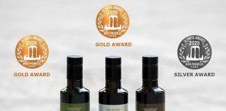 Ελαιώνες Σακελλαρόπουλου: Τριπλή διάκριση στα Olympia Health & Nutrition Awards 2020