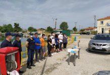 Ξάνθη: Καθάρισαν το Λιμένα Λάγους οι Λιμενικοί