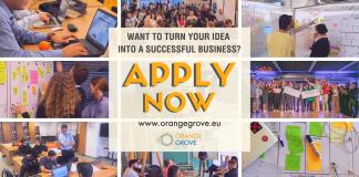Ξεκίνησαν οι αιτήσεις για συμμετοχή startups στο online Incubation πρόγραμμα του Orange Grove