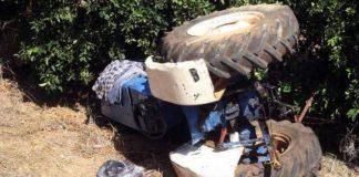 Τρίπολη: Νεκρός αγρότης που καταπλακώθηκε από τρακτέρ
