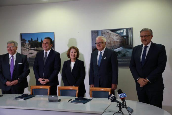 Μνημόνιο συνεργασίας Γενικής Γραμματείας Αποδήμου Ελληνισμού και Τράπεζας Πειραιώς για τις Επετειακές Δράσεις 1821-2021
