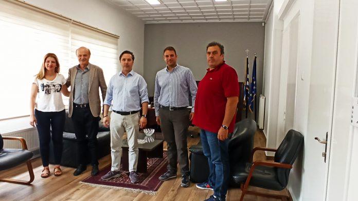 Η άμεση σύνδεση της Νάουσας με το δίκτυο φυσικού αερίου, στο επίκεντρο συνάντησης του Δημάρχου με στελέχη της EDIL HELLAS
