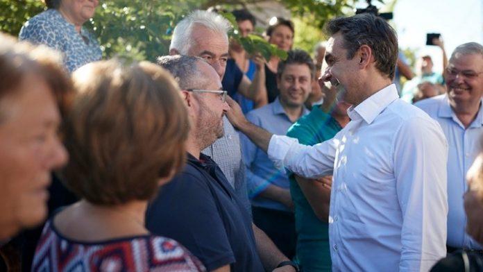 Έμφαση στην προστασία των προϊόντων από ελληνοποιήσεις έδωσε ο Πρωθυπουργός κατά την επίσκεψή του στα Τζουμέρκα
