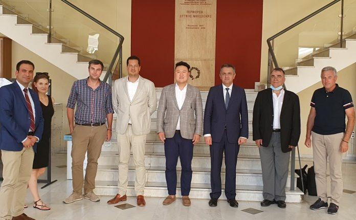 Κινεζικό ενδιαφέρον για επενδύσεις στη Δυτική Μακεδονία