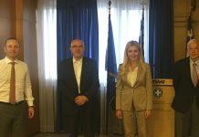 Συνάντηση Φ. Αραμπατζή με ΥφΕΞ και ΣΕΒΤ: Ευοίωνες οι προοπτικές περαιτέρω αύξησης των εξαγωγών τροφίμων