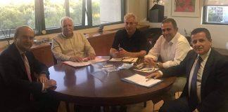 Συνάντηση Κ. Χατζηδάκη με το Προεδρείο της Πανελλήνιας Ένωσης Δασολόγων Δημοσίων Υπαλλήλων
