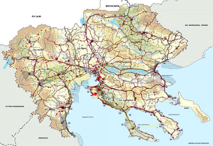 Πήρε ΦΕΚ η απόφαση για αναθεώρηση του περιφερειακού χωροταξικού πλαισίου της Κ. Μακεδονίας