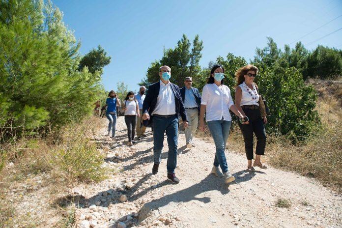 ΥΠΕΝ: Στόχος η περιβαλλοντική προστασία και ανάδειξη της Πεντέλης