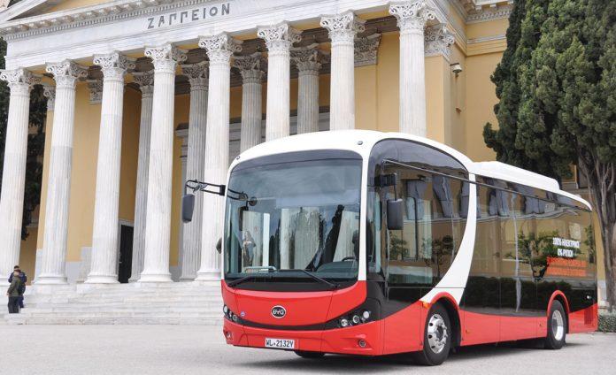 Δοκιμαστικά δρομολόγια από το πρώτο ηλεκτρικό λεωφορείο στην Ελλάδα