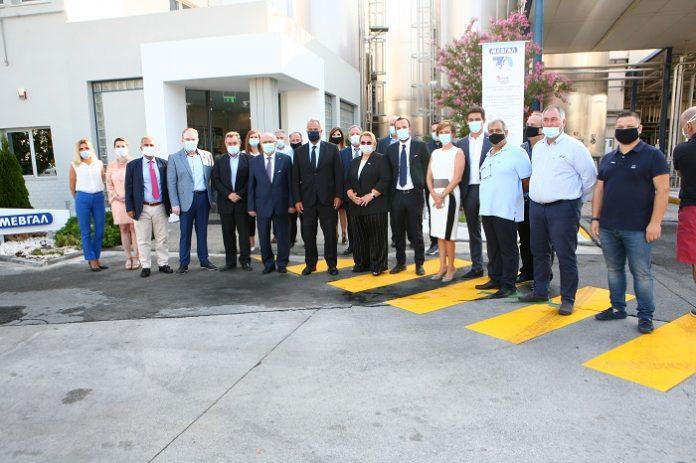 Επίσκεψη Μ. Βορίδη στις εγκαταστάσεις της ΜΕΒΓΑΛ