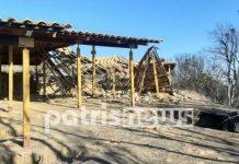 Κάηκε το Μυκηναϊκό Νεκροταφείο από την πυρκαγιά στην Ηλεία