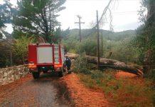 Κέρκυρα: Έντονα καιρικά φαινόμενα, διακοπή ηλεκτροδότησης και κλειστό σχολείο αύριο