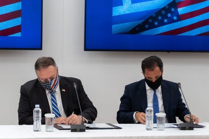 Συμφωνία συνεργασίας Α. Γεωργιάδη και Μ. Πομπέο στον τομέα της επιστήμης και της τεχνολογίας