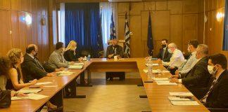 Σύσκεψη για την άμεση καταβολή αποζημιώσεων στους πληγέντες από τον Ιανό, στο ΥΠΑΑΤ