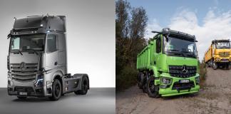 Mercedes-Benz Trucks: H νέα γενιά Actros Edition 2 και Arocs