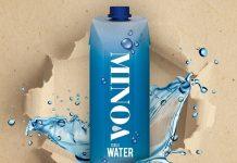 ΜΙΝΟΑ, το πρώτο εμφιαλωμένο νερό σε χάρτινη συσκευασία Tetra Pak