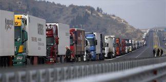 Τεστ κορωνοϊού στους οδηγούς τουρκικών φορτηγών που περνάνε τα σύνορα ζητάει η ΠΟΓΕΔΥ