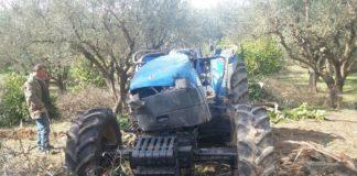 Θανάσιμος τραυματισμός από τρακτέρ στην Κορινθία