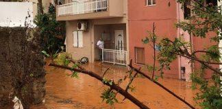 Καταγραφή των ζημιών στις πληγείσες, από τα πλημμυρικά φαινόμενα, περιοχές της Κρήτης